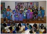 7月30日(金)、国際言語・文化学科芸術コース絵画専攻の学生が生誕100年「宇治山哲平展」ワークショップに参加
