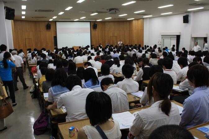 7月15日(月)、第2回別府大学・別府大学短期大学部合同オープンキャンパスを実施しました