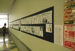 32号館学生ホールで「クラサン杯」受賞マンガ作品展