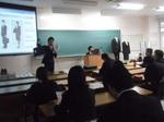 【キャリア支援センター】「リクルートスーツ着こなし講座」を開催