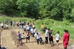【別府大学夢米棚田プロジェクト】七島イ苗の植え付けを行いました