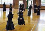 エクアドル剣道代表チーム来学。NHKも取材