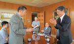 中国の「煙台開発区通達日語培訓学校」訪問団が本学を訪れました