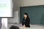 現場から学ぶ~社会福祉士 古川聖子氏の講義を行いました
