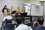 九州大学病院別府病院で「サマーコンサート」を行いました