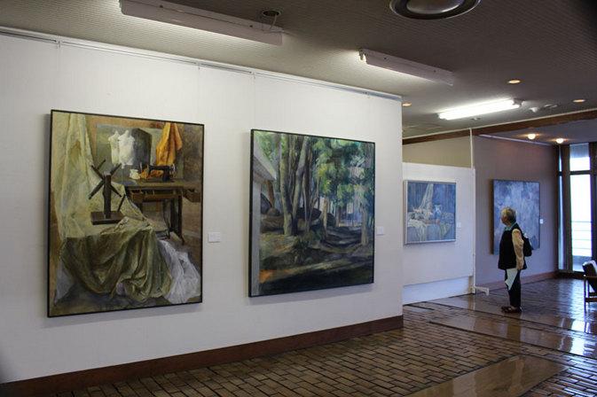 別府若手作家油彩画展-別府大学絵画コース研究生・4年生を中心に-