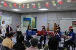 別府大学吹奏楽団が九大病院でクリスマスコンサートを行いました