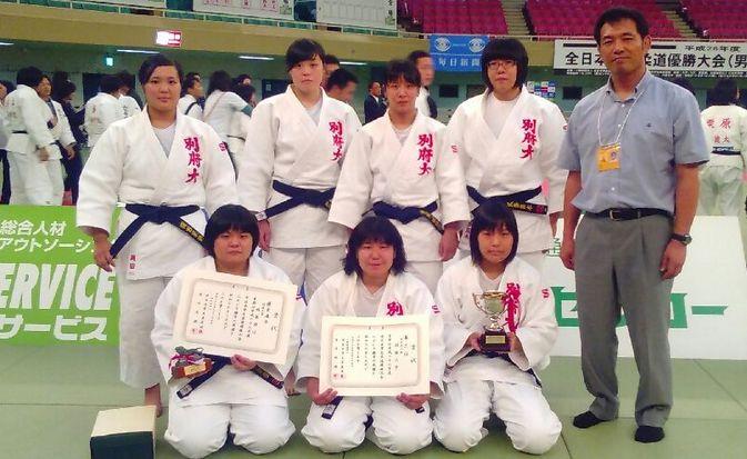 【柔道部女子】平成28年度全日本学生優勝大会で第3位に!
