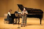 第2回音楽鑑賞会「大島文子(クラリネット)・大島直子(ピアノ) デュオリサイタル」 を開催しました