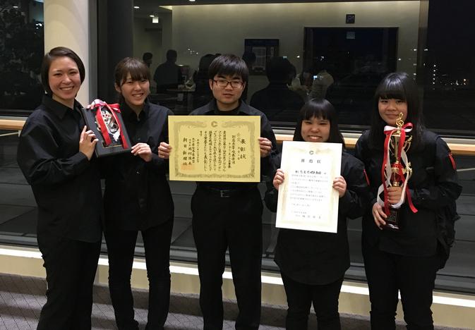 吹奏楽団クラリネット5重奏が九州大会へ