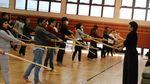 別科留学生が日本文化体験授業で剣道体験をしました
