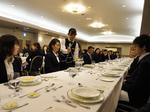杉乃井ホテルでテーブルマナー講習会を開催しました