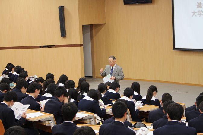 【高大連携】大分高校1年生が本学で「1日大学体験」を行いました。