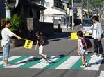 別大サークル「別府BBS会」が子どもの交通安全に一役