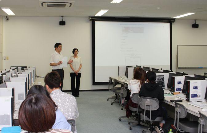「日本語教育概論1」でミニ講演会が行われました