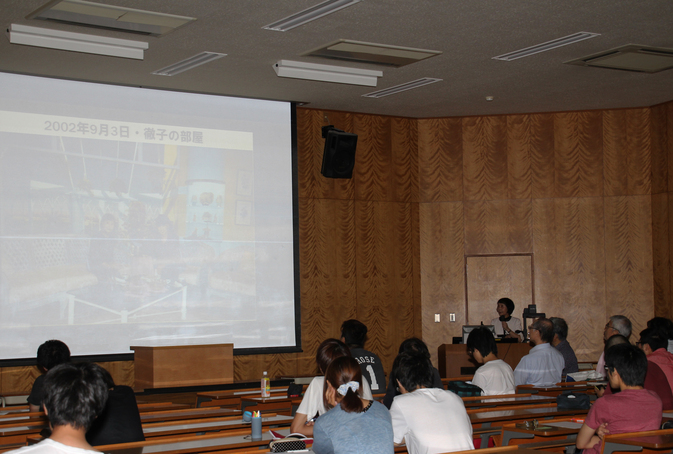 講義「大学史と別府大学」で王敏先生の特別講演が行われました