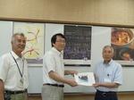 【ハーブ六次産業化プロジェクト】サフラン商品開発を竹田市に報告
