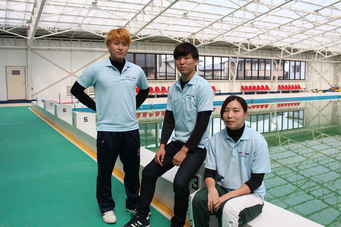 【水泳部】県体メンバーに選出され、別府市チームで活躍!!