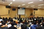 長野別府市長と本学学生が意見交換を行いました