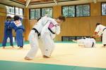 パラリンピック女子柔道の半谷静香選手と合同練習