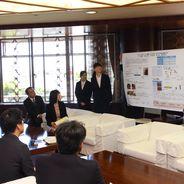 「第7回サイエンス・インカレ」の入賞報告で長野市長を表敬訪問