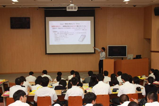 【高大連携】佐伯豊南高校2年生が「1日大学体験」を行いました