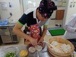 【食物栄養学科】創立110周年記念事業「親子料理教室」を開催しました