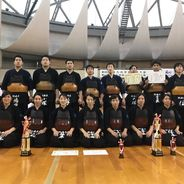【剣道部】九州大会で男子・女子ともに準優勝しました