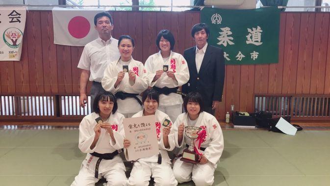 平成30年度第71回大分県民体育大会柔道競技において、本学柔道部員が活躍しました。