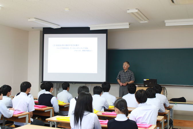 【高大連携】福徳学院高校2年生が「1日大学体験」を行いました