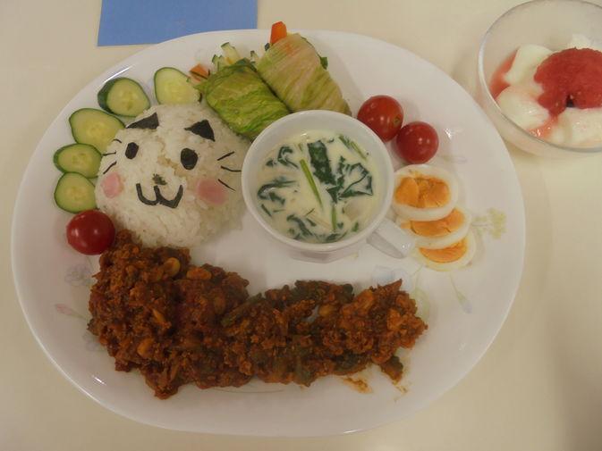 【食物栄養学科】小学生サッカーチームを対象とした調理実習を行いました