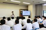 【高大連携】明豊高校1年生が「1日大学体験」を行いました