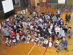 日本語教育研究センターが国東市立旭日小学校と交流授業を行いました。