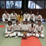 「第34回大分県女子柔道選手権大会」において本学柔道部が活躍しました