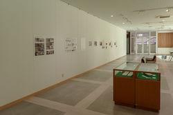 出土金属製品の保存修復と自然科学的調査についてパネルによる展示