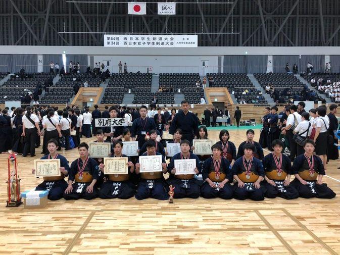 【剣道部】西日本学生剣道大会で健闘