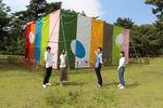 アニッシュ・カプーア彫刻作品『Sky Mirror』 作品保管用シートをデザイン・制作