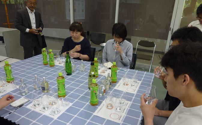 【発酵食品学科】九州学生本格焼酎プログラムで麦焼酎製造を体験しました
