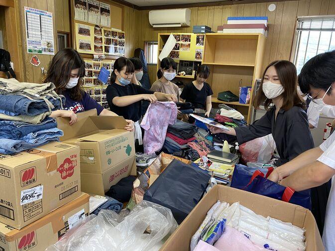 手を取り合って。豪雨被害の日田市へ支援物資を!