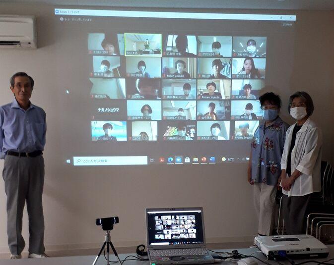 【国際言語・文化学科】野津原方言調査会と学生との3回目の交流会をしました