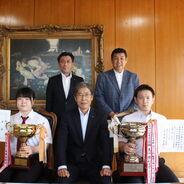 剣道部が大分県剣道選手権大会でダブル優勝!